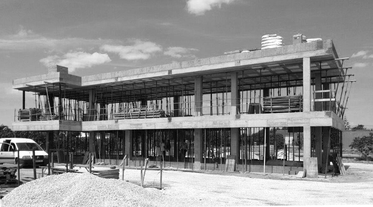 estructura en Alicante, Pinoso, por Araque Maqueda construcciones