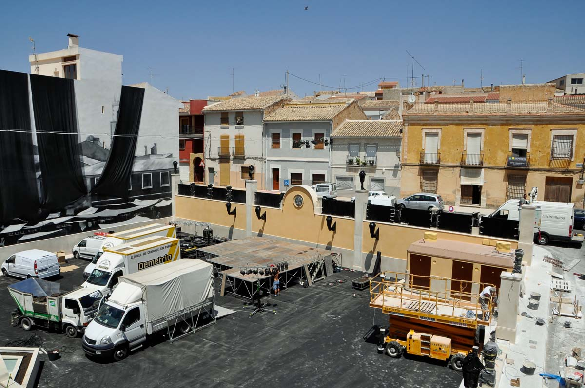 construcción de Parking en Pinoso por Araque Maqueda