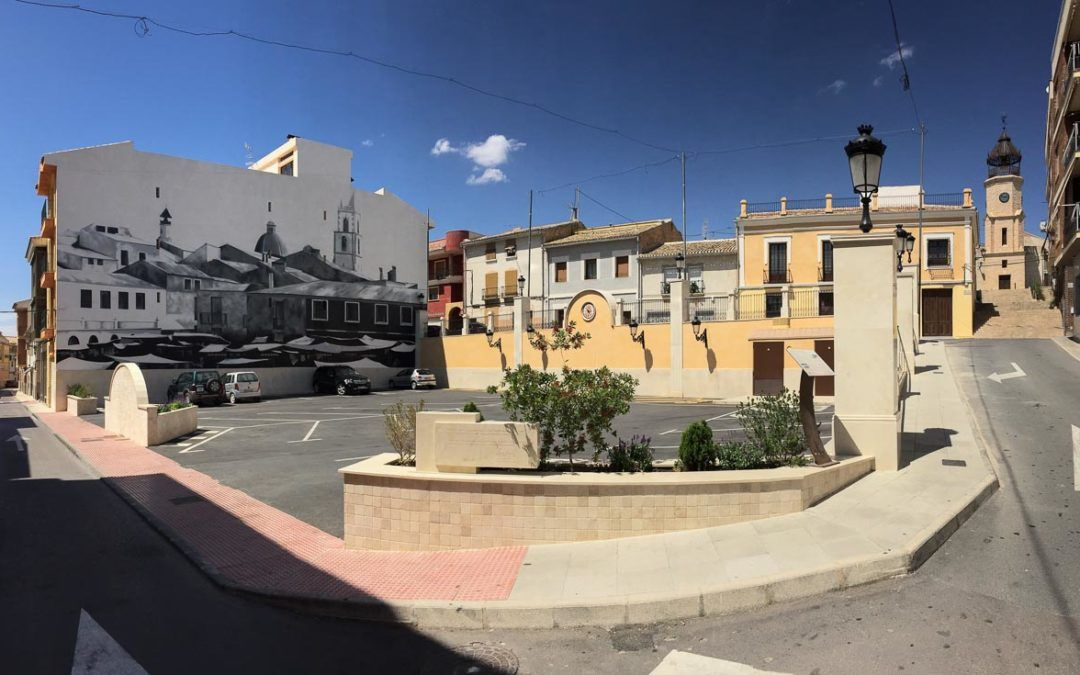 Parking construction in Pinoso