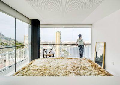 Dormitorio. Reforma de ático en Alicante por Araque Maqueda Construcción
