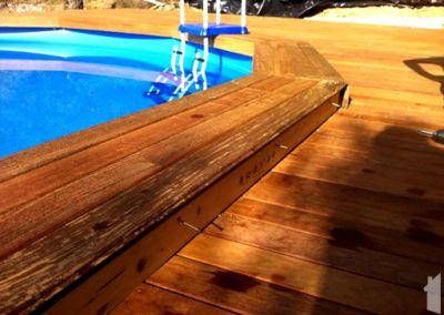 Construcción de piscina en Abdet (Confrides)