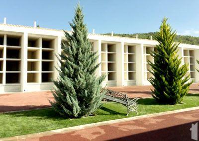 Construcción de panteones en Pinoso
