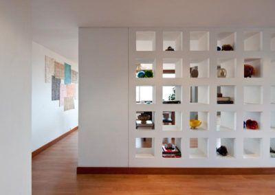 Creación y diseño de estanterías de obra en pladur