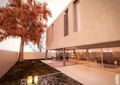 Estructura de vivienda unifamiliar en Alicante