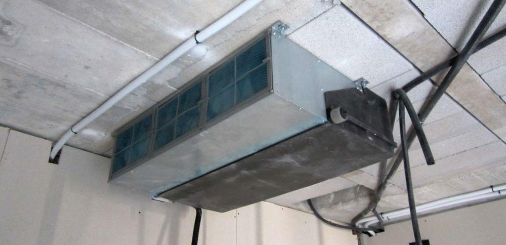 Preinstalaci n de aire acondicionado por conductos for Maquina aire acondicionado por conductos