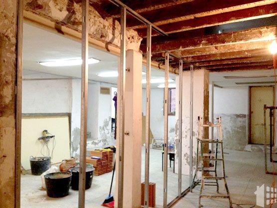 Rehabilitación de vigas de madera en un forjado