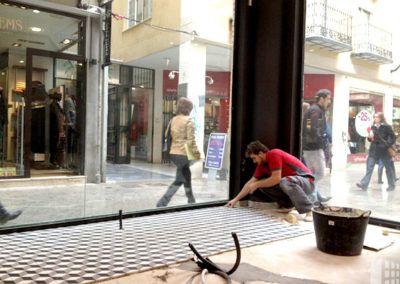 Refurbish of premises for optics in Murcia.