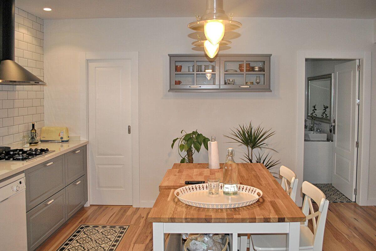 Mesa cocina. Reforma casa de campo en pinoso Alicante por Araque Maqueda construccion