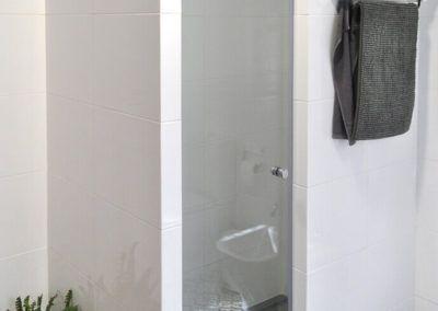 Ducha. Reforma casa de campo en pinoso Alicante por Araque Maqueda construccion