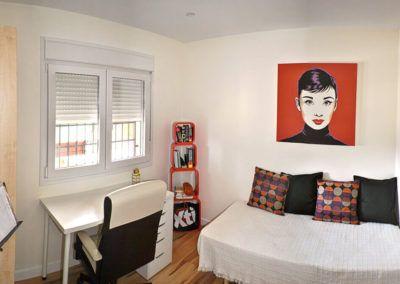 Dormitorio. Reforma casa de campo en pinoso Alicante por Araque Maqueda construccion