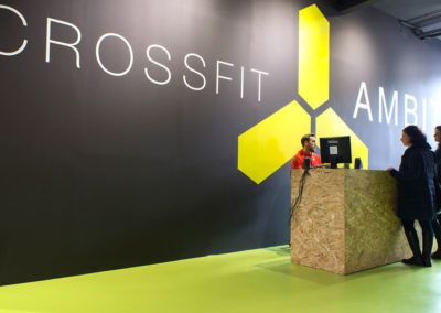 Adaptation of industrial ship to gym CrossFit in Petrer