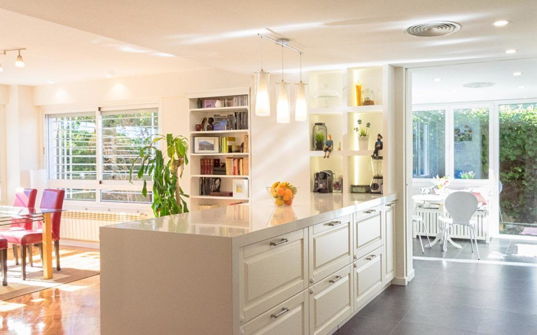 Duplex house refurbishment in Madrid