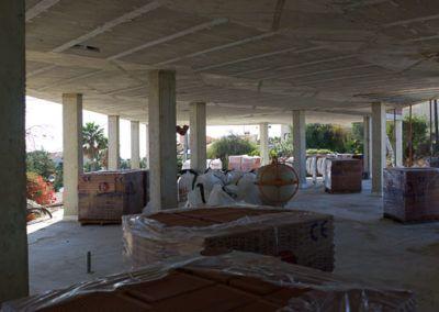 Estructura de vivienda unifamiliar en El Campello, Alicante por Araque Maqueda