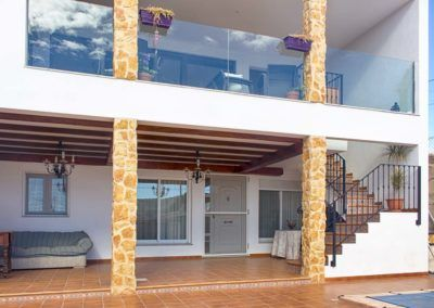 Extension of single-family house in Pinoso (Alicante)