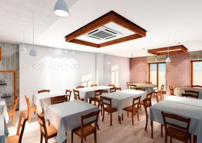 Proyecto de reforma de restaurante en Pinoso (Alicante)