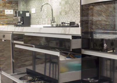 Mueble cocina. Reforma vivienda Elda (Allicante) por Araque Maqueda
