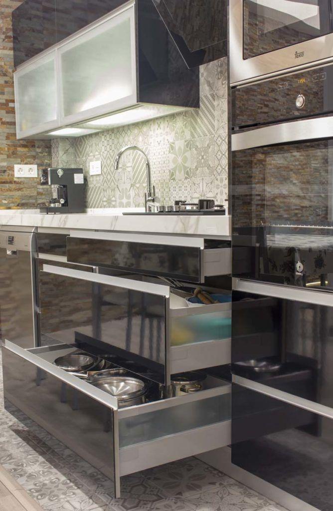 Mueble cocina. Reforma vivienda en Elda (Allicante) por Araque Maqueda