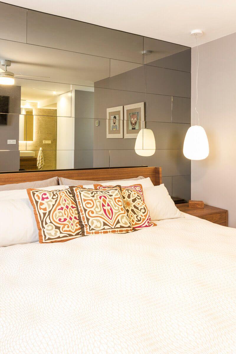 Dormitorio Atico de diseño en Alicante por Araque Maqueda Terraza