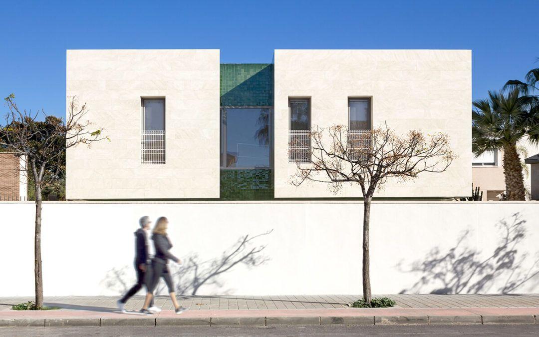 Single-family house construction in Alicante
