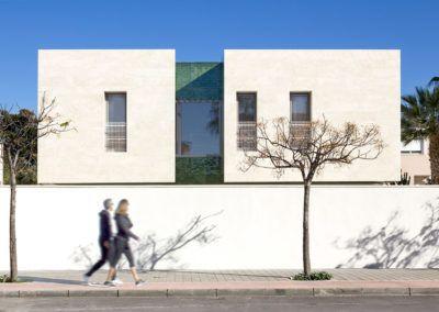 Construcción de vivienda unifamiliar en Alicante