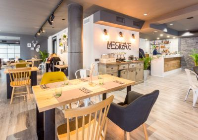 Restaurant with interior design in Elche (Spain)