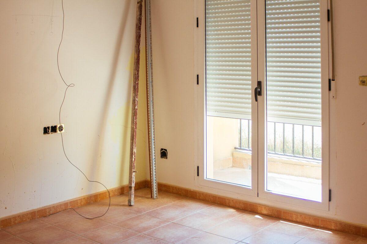 Habitación en obras en Obra de reforma de adosado por Araque Maqueda