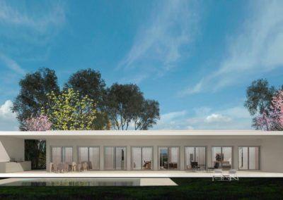 Proyecto de casa minimalista en Alicante