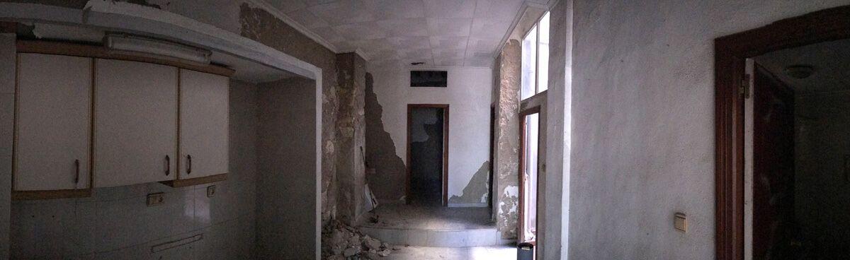 Estado previo de reforma de apartamento en Alicante por Araque Maqueda