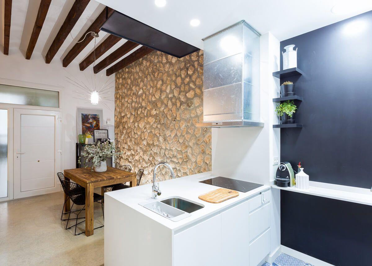 Fregadero de reforma de apartamento en Alicante por Araque Maqueda