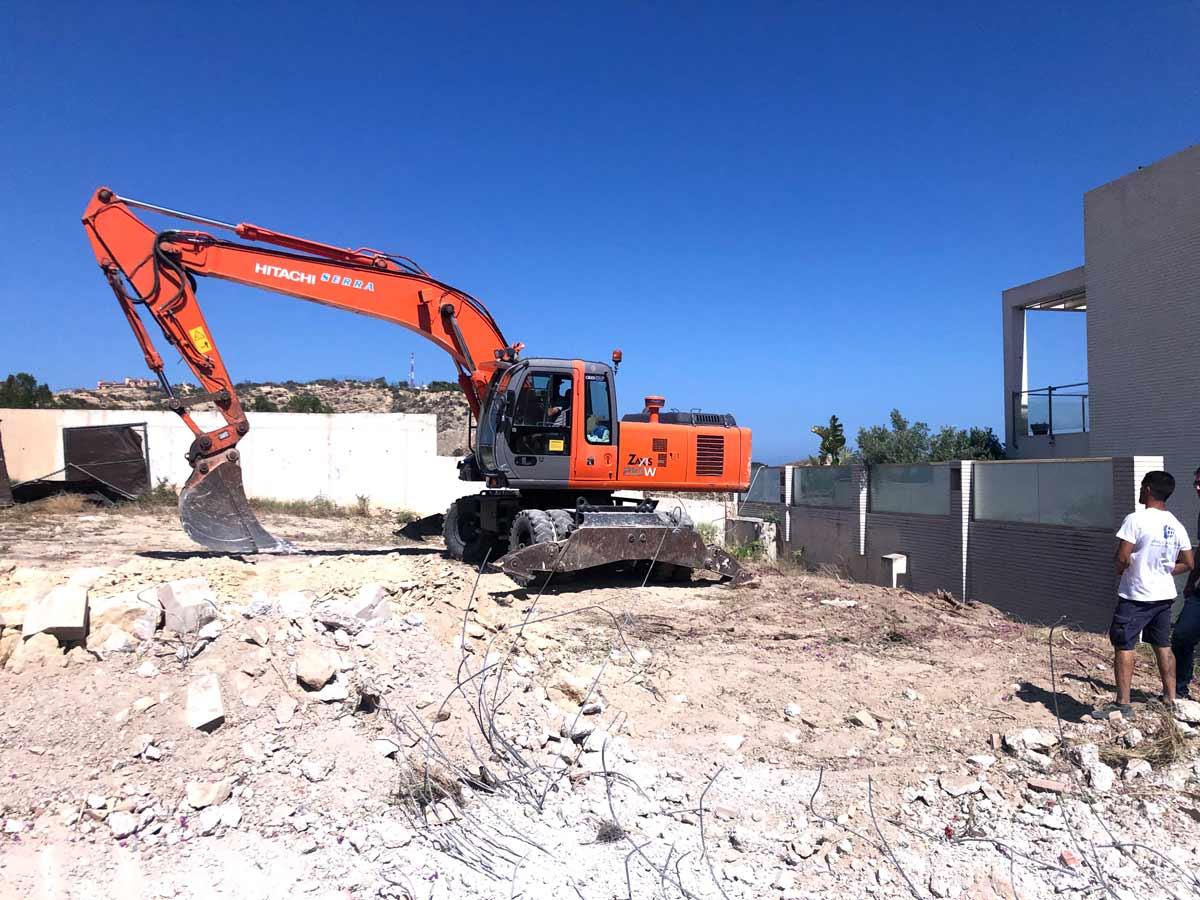 Excavación Proyecto Chalet en Cabo de las Huertas (Alicante)