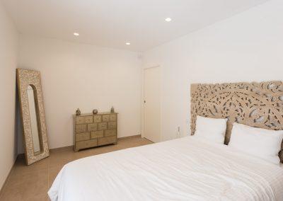Habitación de invitados Chalet minimalista en Hondon de las Nieves (Alicante) por Araque Maqueda