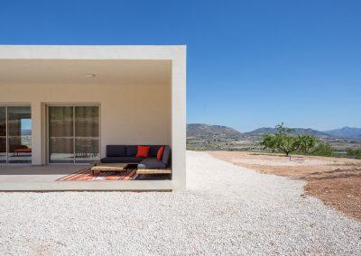 Detalle Chalet minimalista en Hondon de las Nieves (Alicante) por Araque Maqueda