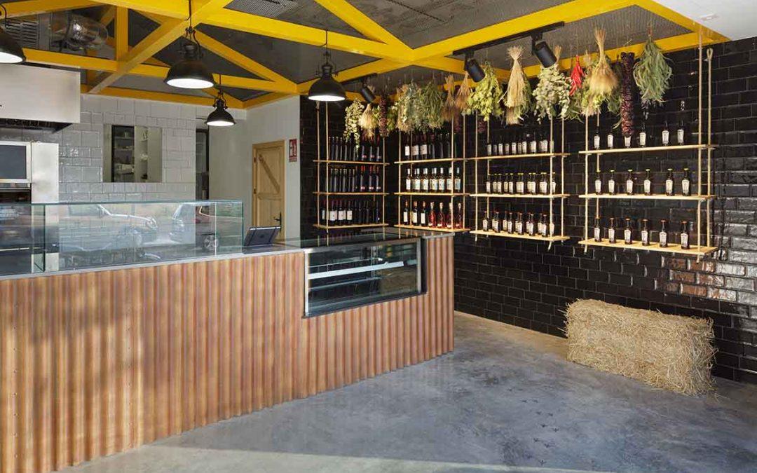 Reforma de local para asador de pollos en Alicante