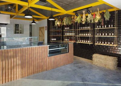 Chicken rotisserie with interior design in Alicante
