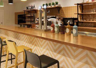 Barra restaurante Araque Maqueda