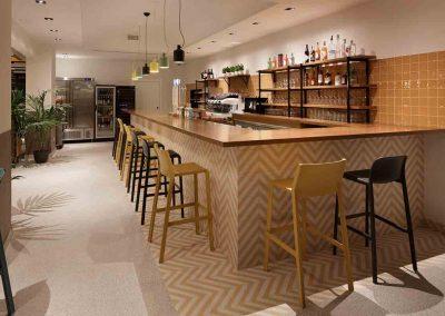Barra restaurante Vives Araque Maqueda