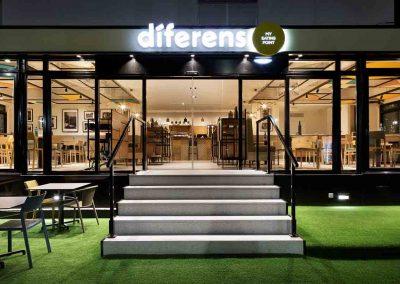 Restaurant refurbishment in Altea