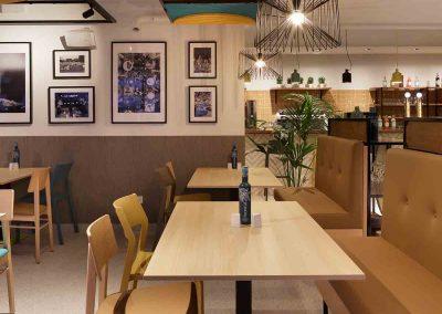 Mobiliario restaurante Araque Maqueda