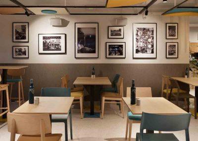Decoración restaurante Araque Maqueda