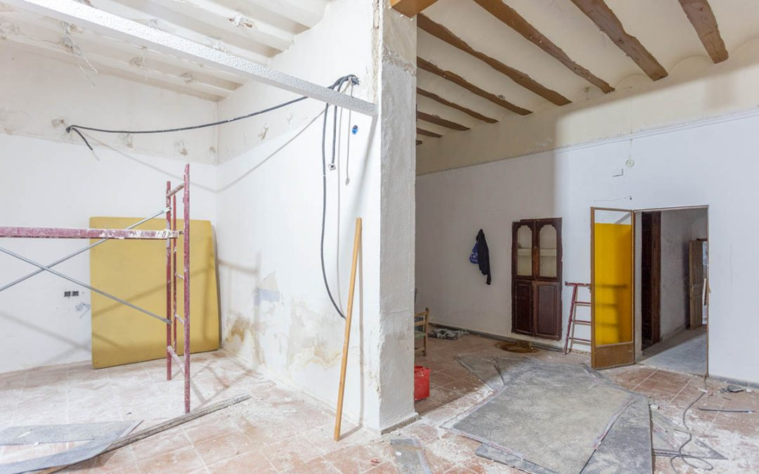 Renovation process of a single-family house in Pinoso