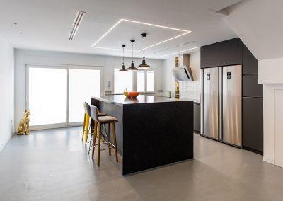 Reforma de cocina de diseño en Alicante