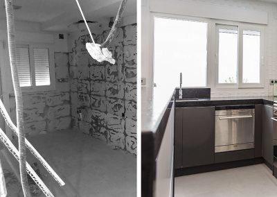 Proceso de reforma de cocina en Alicante