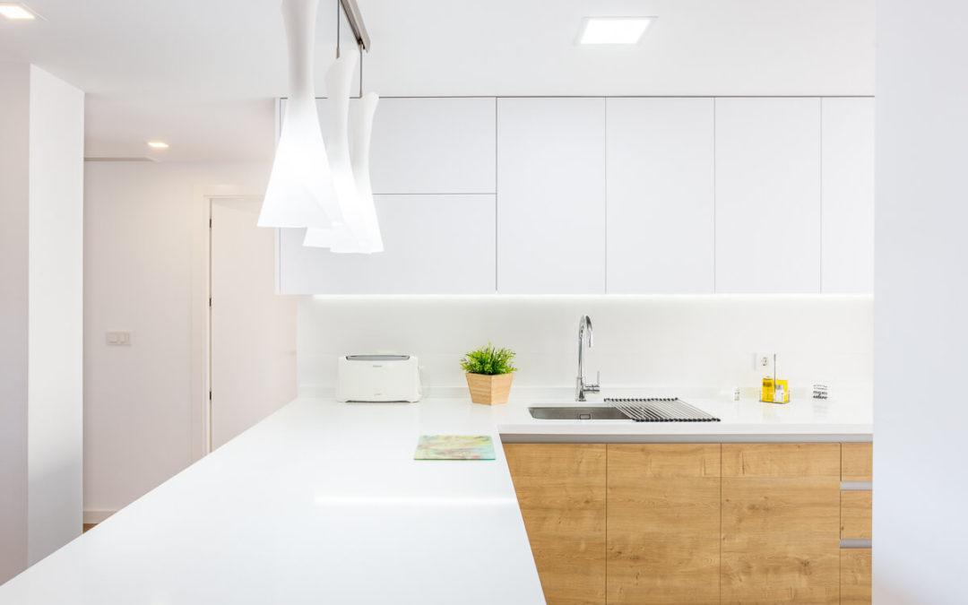 Nordic style refurbishment to gain space