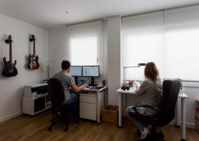 home studio Reforma de estilo nordico en alicante por araque maqueda
